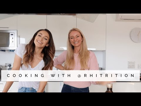 MAKING PIZZA & THINGS YOU NEED TO KNOW TO BE HEALTHIER  | Danielle Peazer feat. Rhiannon Lambert