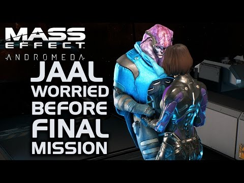 Mass Effect Andromeda - Jaal Worried Before Final Mission (All Dialogue Options)