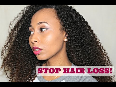 How to STOP Hair LOSS, BREAKAGE and Excessive SHEDDING!