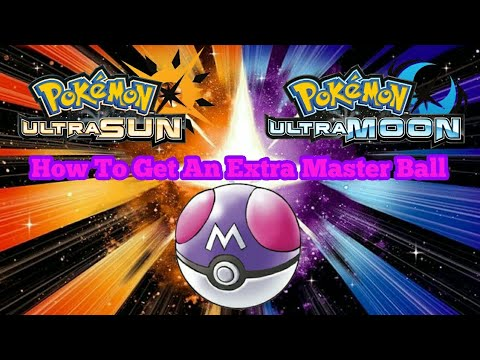 How To Get An Extra Master Ball In Pokemon USUM + Pokemon Crystal Update!