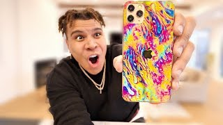 I Hydro Dipped My iPhone 11... and This Is What Happened
