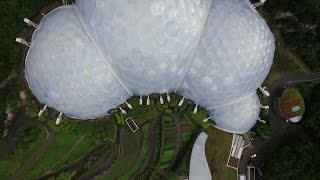 The Eden Project Houses Multiple Ecosystems In These Incredible Geodesic Domes