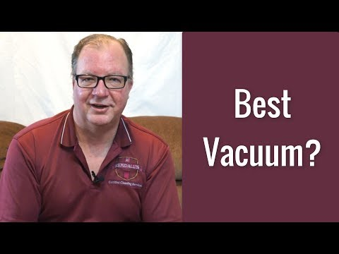 Which vacuum should I buy? | Rendall's Cleaning