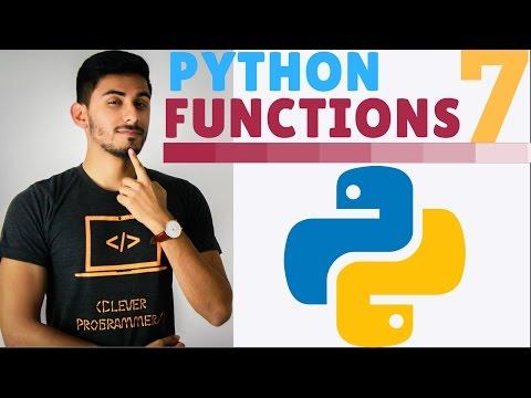Learn Python Programming - 7 - Fun Fun Functions