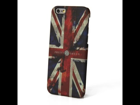 Pretty Green Red Union Jack iphone 6 Case Review