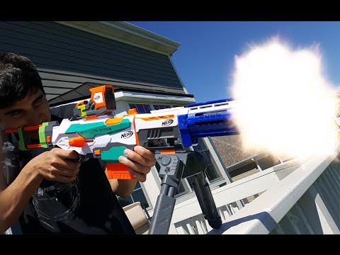 Nerf War: Sniper Attack