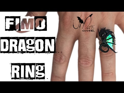Anello con drago - Tutorial Fimo - DIY
