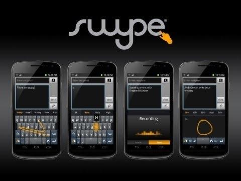 swype keyboard on IPhone 5
