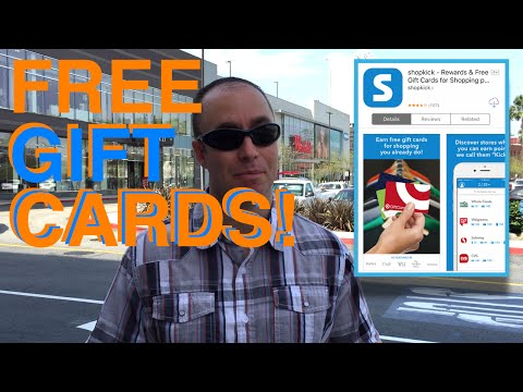How To Use The Shopkick App To Earn Free Gift Cards Rewards