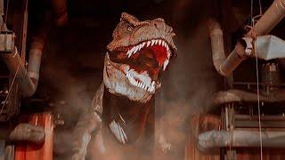 Jurassic Park The Ride River Adventure (HD POV) Universal Studios Hollywood, California