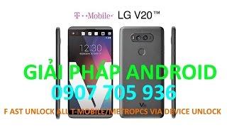 Downgrade LG ls997 Oreo V20A to Marshmallow ZVC Support Unlock