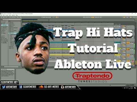 How to Make Trap Hi Hats in Ableton Live | Tutorial | Free Template