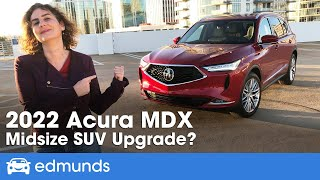 2022 Acura MDX Review | Acura's Luxury SUV Gets a Redesign | Price, Interior, MPG & More