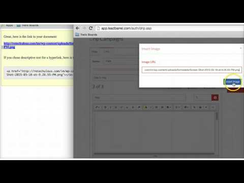 How To Make A Video Email With Leadbarrel