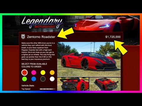 Convertible Super Cars In GTA 5 - Zentorno Roadster, Topless Entity XF, Vacca Spyder & MORE! (GTA V)