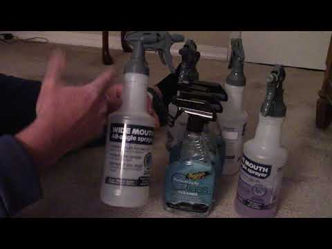 Wal-Mart Spray Bottle - Amazing Deal & Bottle For Auto Detailing