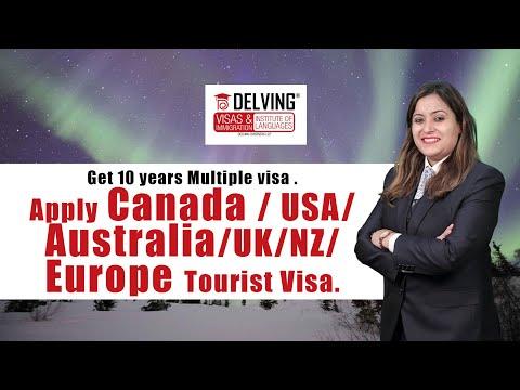 Get 10 years Multiple visa . Apply Canada / USA/ Australia/UK/NZ/ Europe Tourist Visa.