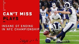ABSOLUTELY INSANE Overtime Ending in the NFC Championship!