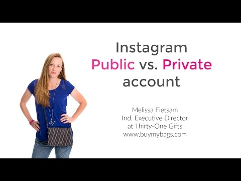 Instagram Public Vs. Private Account for Direct Sales Consultants
