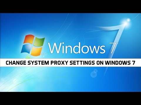 How To Change System Proxy Settings In Windows 7 (Very Easy)