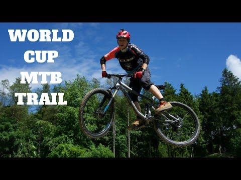 Shredding A World Cup MTB Trail | Black Route At Dalby Forest