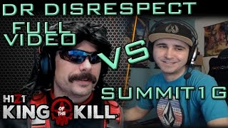 Dr Disrespect Vs Summit1g Round 1 | Gameplay   Chat | H1z1:kotk | Full Video