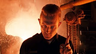 The Death of T-1000 | Terminator 2 [Remastered]