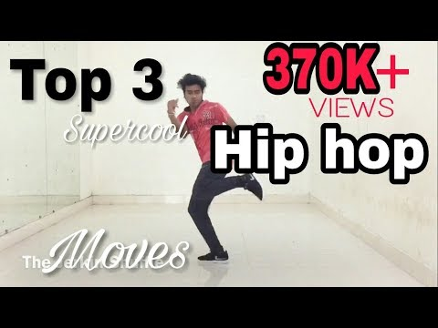 Top 3 Supercool Hip hop Dance Moves You Should Learn!!   Tutorial