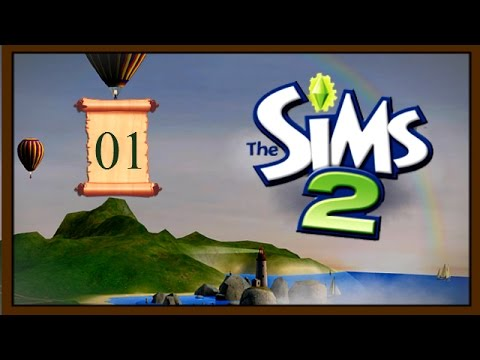 Let's Play The Sims 2 - | ep 1 | -