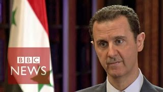Syria conflict: BBC exclusive interview with President Bashar al-Assad (FULL)