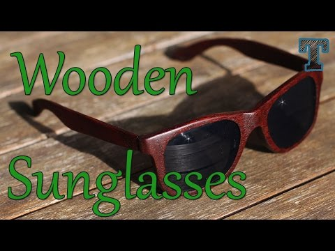 Homemade Wooden Sunglasses: Summer Woodworking Project