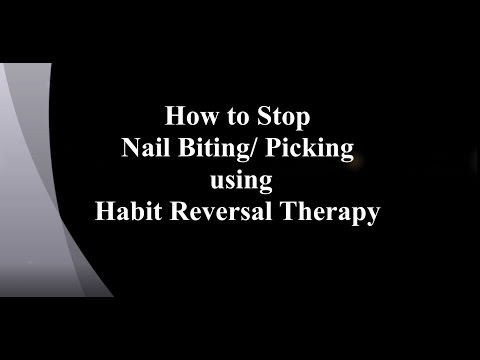 How to Stop Nail Biting/ Picking using Habit Reversal Therapy