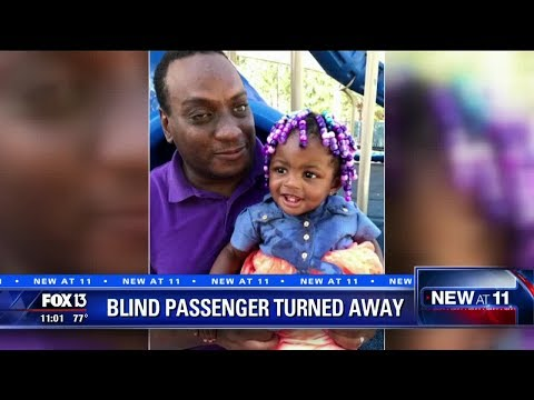 Frontier won't let blind grandfather fly with toddler