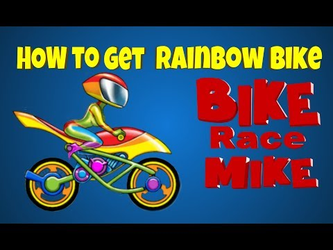 Rainbow Bike by Bike Race and Rainbow Map Hack All Levels