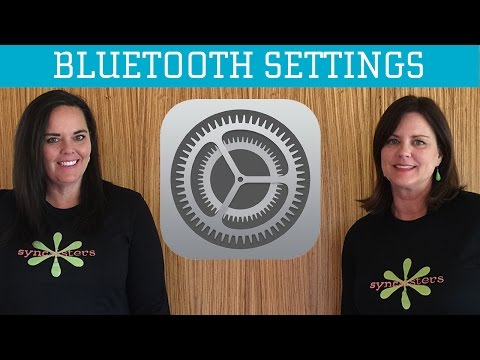 iPhone / iPad Bluetooth Settings