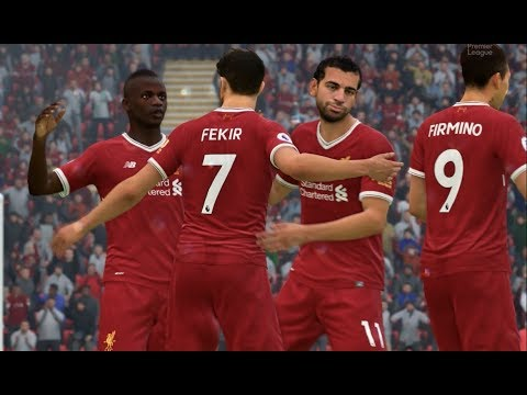 FIFA 18 Liverpool Career Mode | FEKIR = GOAL MACHINE | NINE GOAL GAME IN CL | Episode #37