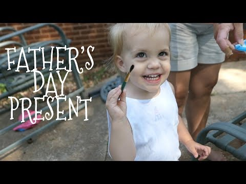Father's Day Gift || Toddler's First Masterpiece