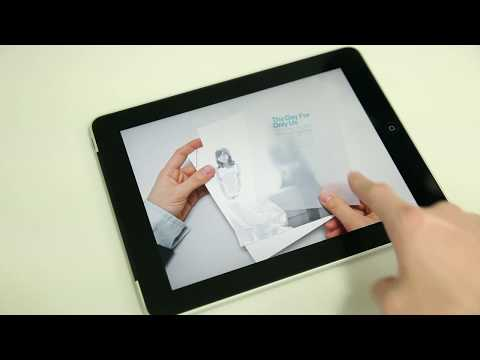 iPad Portfolio What made by Adobe DPS