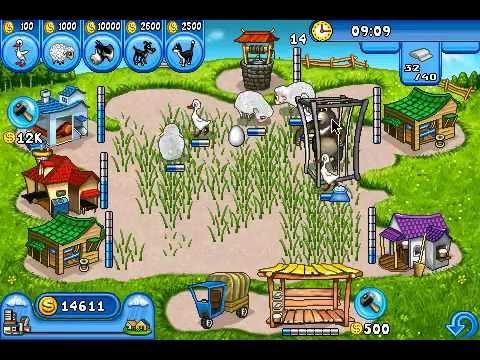 Farm Frenzy Free on GetJar Gold