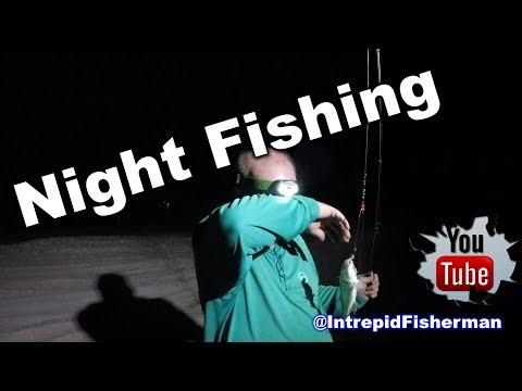 Matagorda beach night fishing - Blacktip sharks redfish and some croaker 7 8 2017