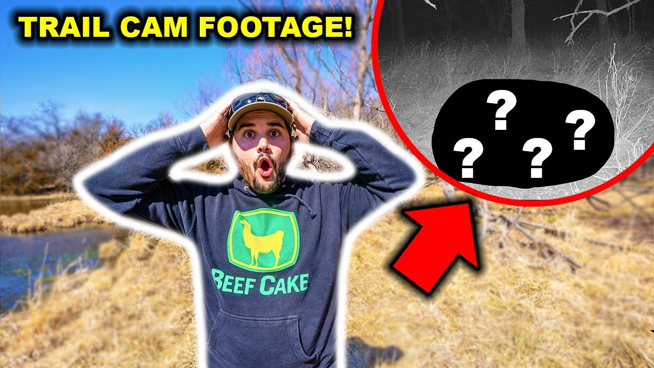 WHAT is Living INSIDE My ABANDONED High-Fence RANCH?!?! (Tons of Trail Cam Footage!)