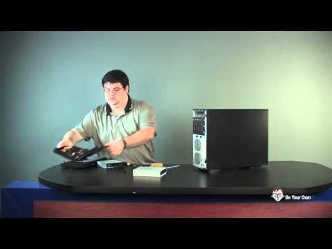 How to Replace a DVD or CD Burner, DVD ROM, Optical Drive or Blu-Ray Burner (Performance PC Series)
