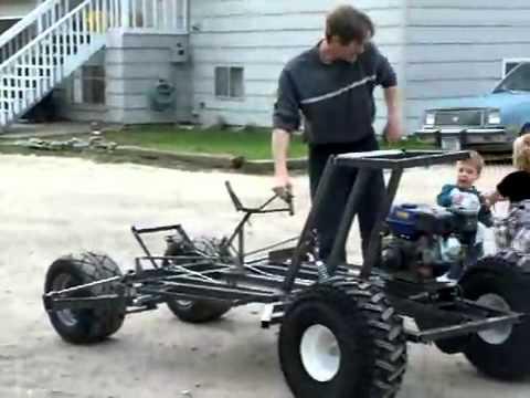 Tumbler go kart = The 1st video ever =
