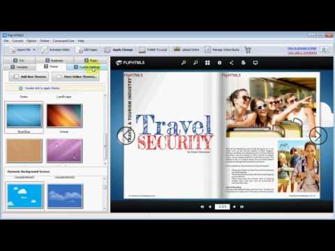 How to Create a Travel Magazine with Multi Media