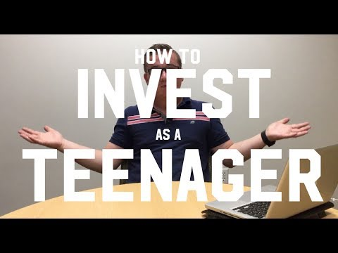 How to invest in the stock market as a teenager - 4 Ways!