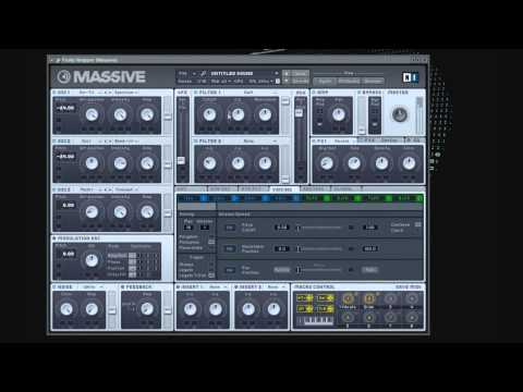 [Day 16] How to make a flux pavillion style synth NI Massive