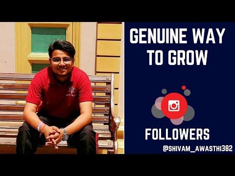Vimage & Autohash tutorial Get genuine followers on Instagram Social media influencer 2018 🔥