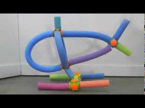 How to build a helicopter out of pool noodles