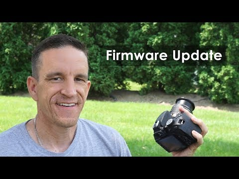 How to Update Your DSLR Firmware (i.e. Nikon D3400)