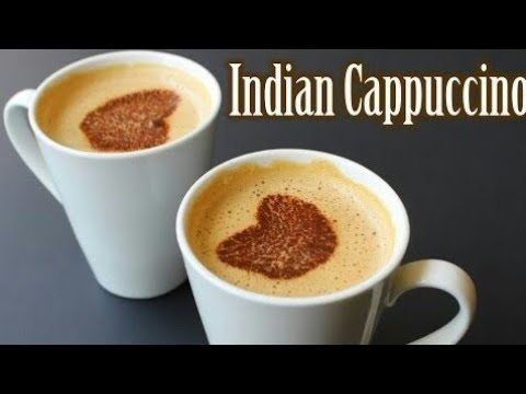 INDIAN BEATEN COFFEE/INDIAN CAPPUCCINO/How to make Coffee/South Indian Coffee/Coffee/காஃபி
